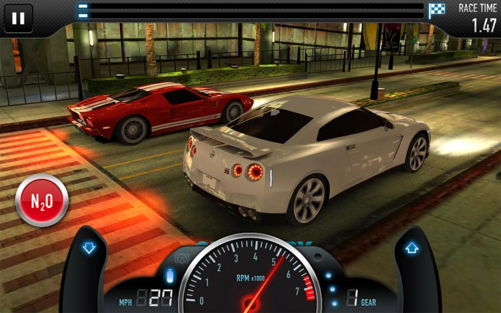 City cars racer 2 - вторая часть отличных гоночек, в которых вы сможете погонять на скоростных треках, по туннелям и