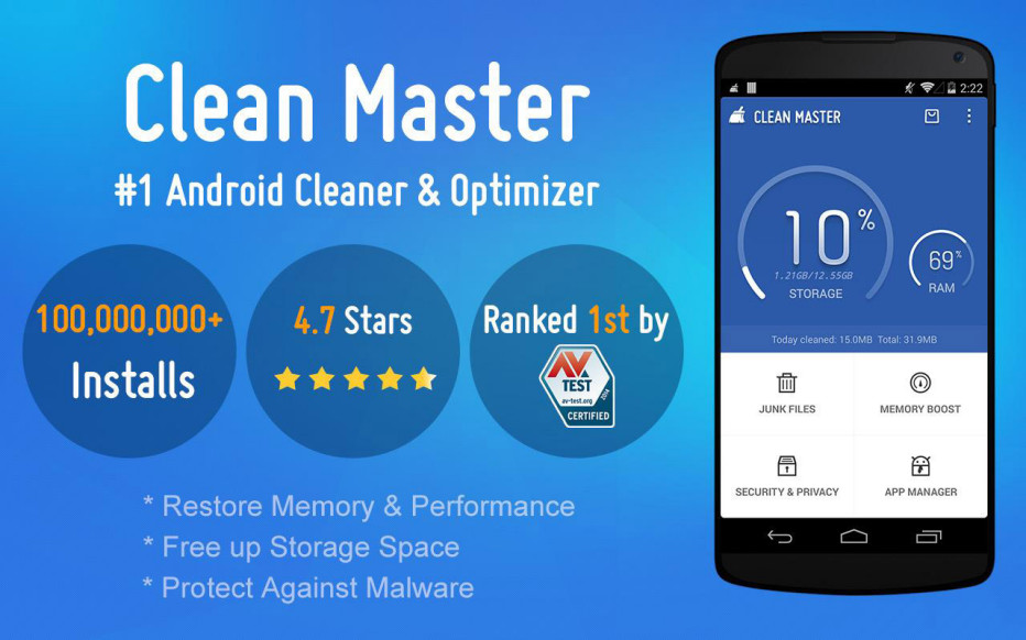 Clean Master – For a Faster Android