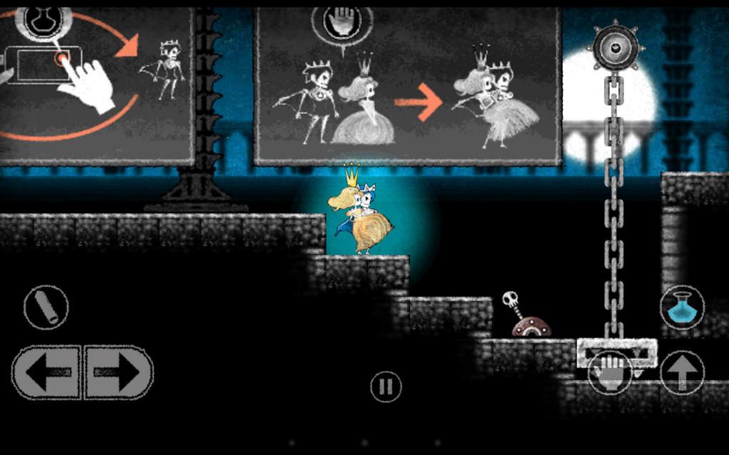 Dokuro - The Skeleton and The Princess 01