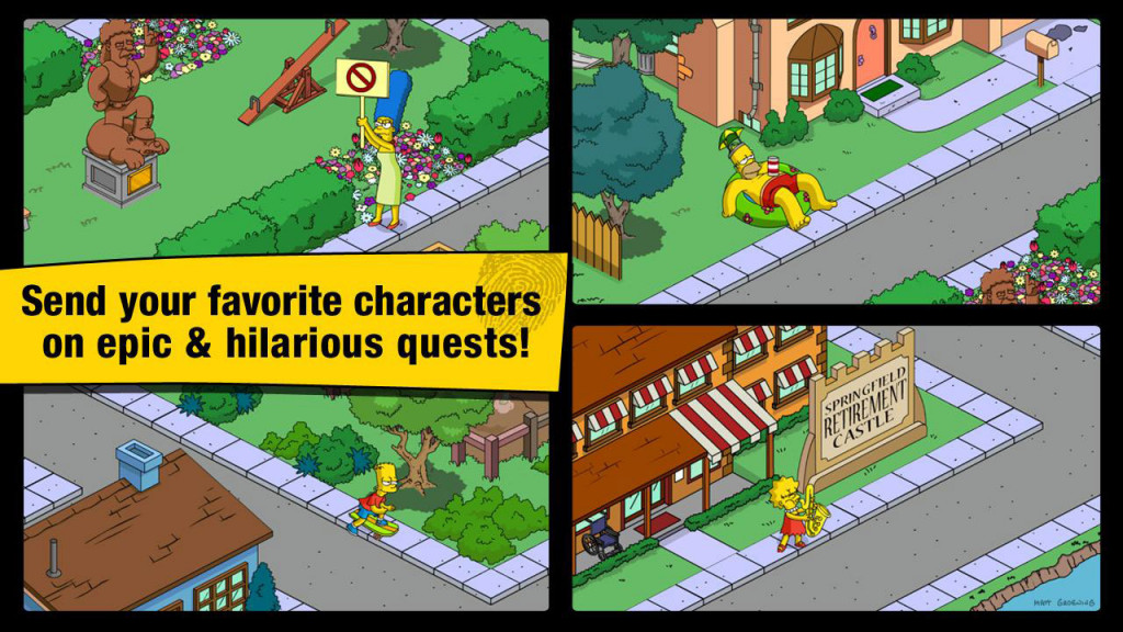 The Simpsons Tapped Out 05