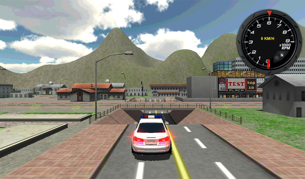 Police Car Driver 3D 02
