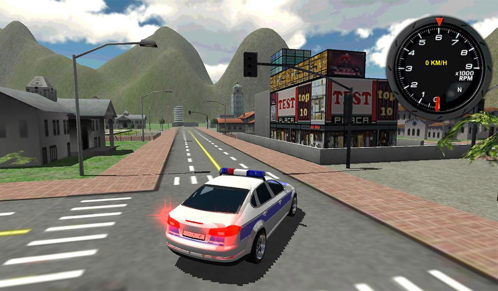 Police Car Driver 3D 03