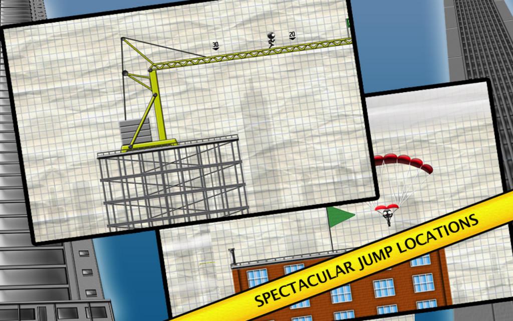 Stickman Base Jumper 02