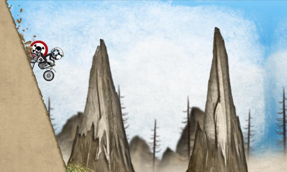 Stickman Downhill – Motocross