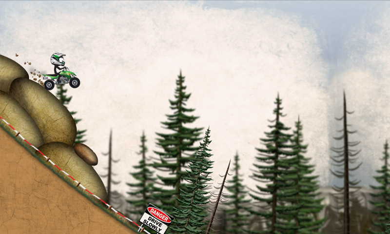 Stickman Downhill - Motocross 04