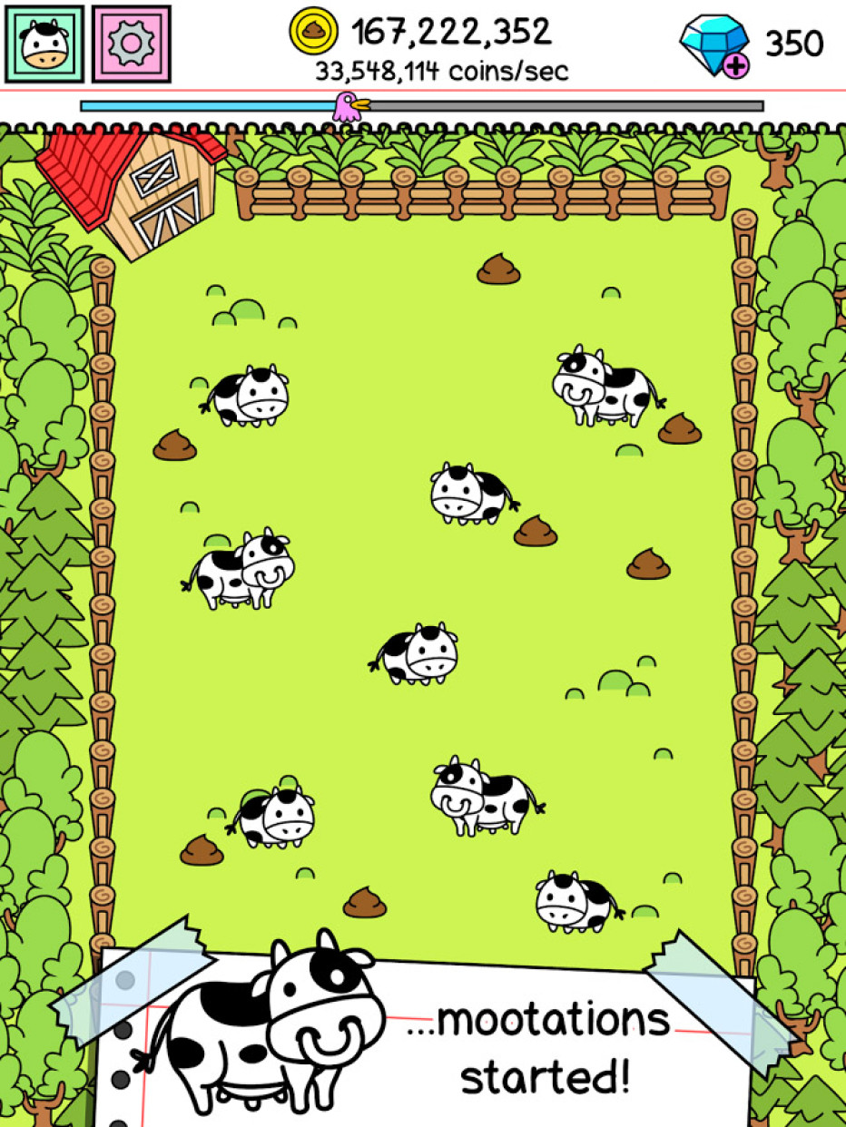 Cow Evolution – Clicker Game