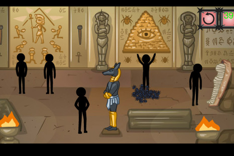 Stickman Secret of The Pyramid