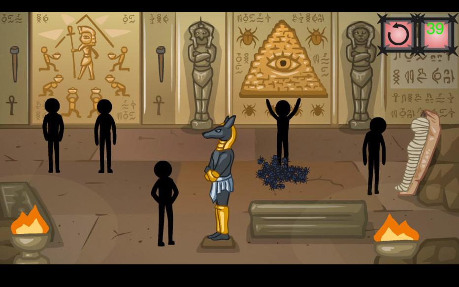 Stickman Secret of The Pyramid
