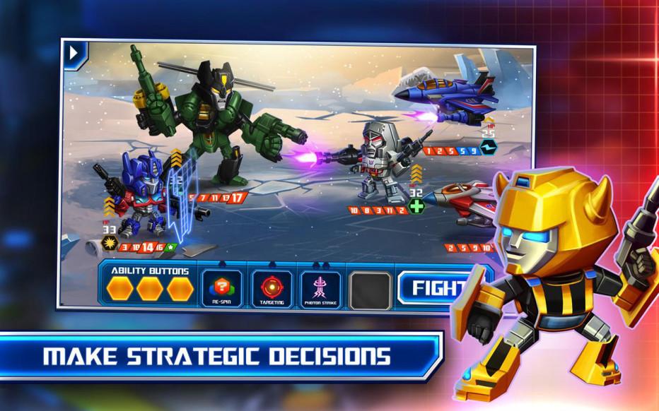 Transformers – Battle Tactics